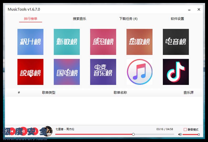 MusicTools无损音乐下载神器-极安网