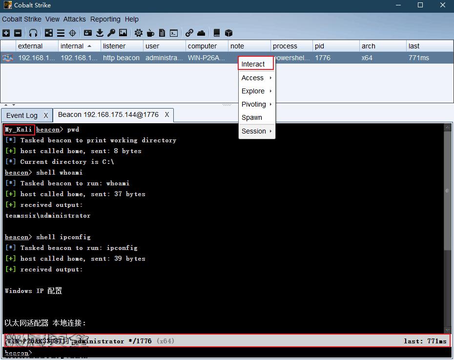 CobaltStrike视频学习笔记系列:(十)如何管理Payload载荷-极安网