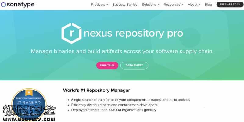 Nexus Repository Manager 2 目录穿越漏洞(CVE-2020-15012)-极安网