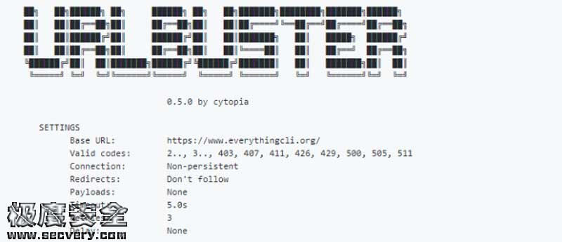 Web目录模糊测试爆破工具Urlbuster-极安网