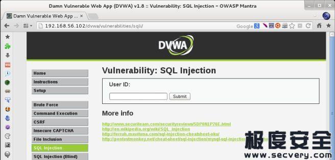 Kali Linux Web 渗透测试秘籍 第四章:漏洞发现-极安网