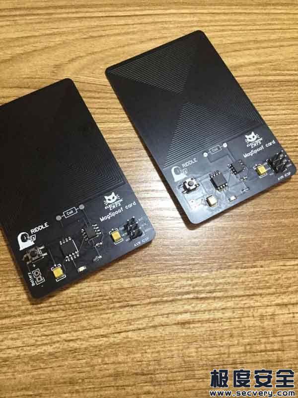 模拟磁条卡设备的制作与测试-极安网