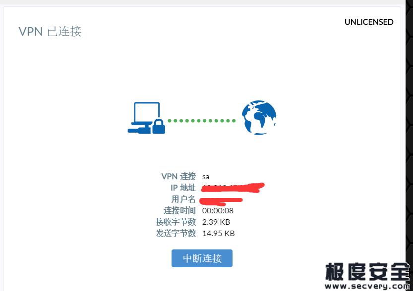 Fortinet SSL VPN设备登录凭据泄露6.7G数据-极安网