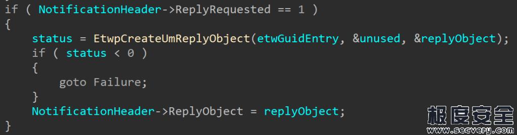 Windows内核EtwpNotifyGuid漏洞利用分析(CVE-2020-1034)-极安网