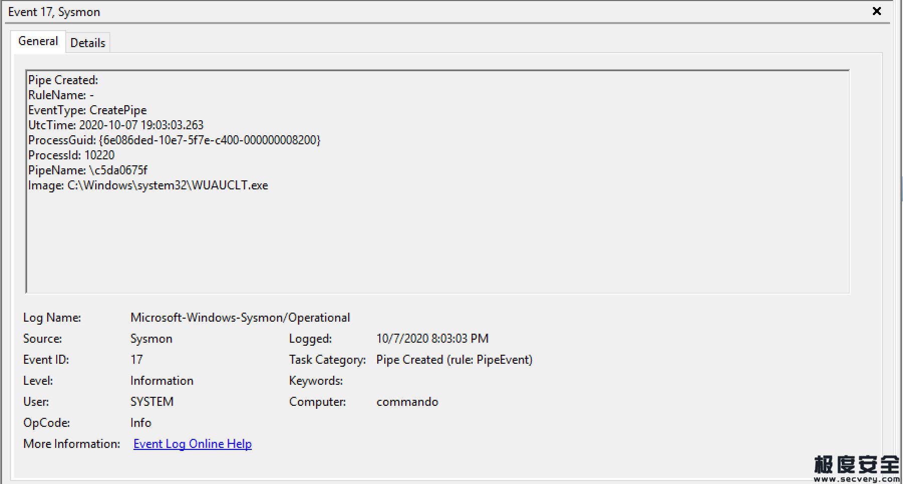 通过命名管道分析实现Cobalt Strike默认模块的检测-极安网