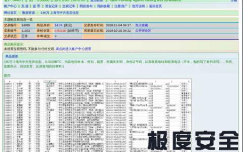 上海190万党员数据泄露