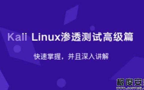 Kali Linux渗透测试高级视频教程