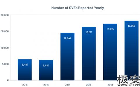 2020年全球公开漏洞披露730起 超过220亿记录遭泄露